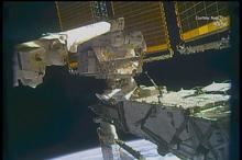 عملیات به روز رسانی باتریهای ایستگاه فضایی بینالمللی توسط فضانوردان