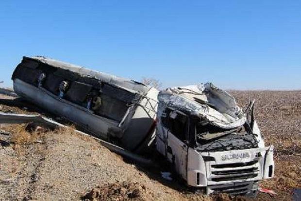 سانحه رانندگی در بجستان دو مصدوم داشت