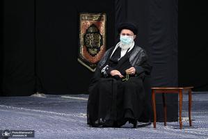 اولین شب مراسم عزاداری حضرت اباعبدالله الحسین (ع) در حسینیه امام خمینی