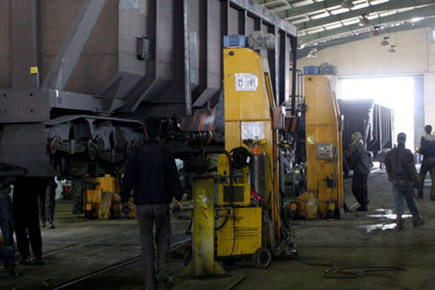 تعمیرات اساسی واگن باری در راه آهن اراک 46 درصد رشد کرد