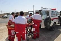 امدادگران هلال احمر قزوین به 5 مصدوم امدادرسانی کردند