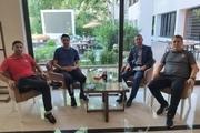 عکس/ اسکوچیچ و وحید هاشمیان با جواد نکونام دیدار کردند
