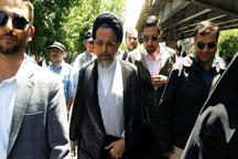 عکس: حضور وزیر اطلاعات در راهپیمایی روز قدس