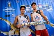 صعود تیم ملی والیبال ساحلی به مرحله حدفی قهرمانی جهان