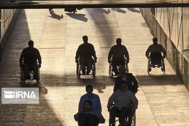 بازدید رایگان معلولان از برج میلاد تهران