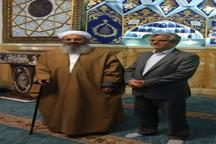 دیدار محمود صادقی با مولانا عبدالحمید + عکس