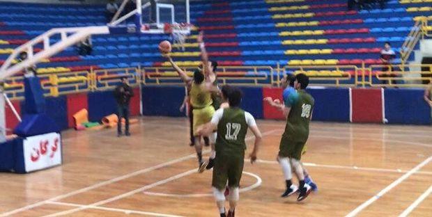 تیم بسکتبال شهرداری گرگان در مسابقه دوستانه به برتری رسید