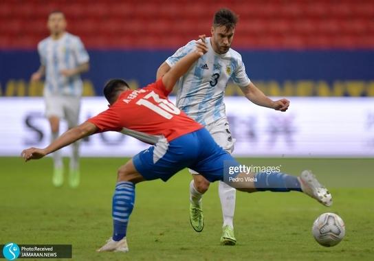 کوپا آمه ریکا ۲۰۲۱ - تیم فوتبال آرژانتین و تیم فوتبال پاراگوئه
