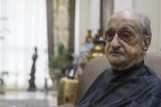مراسم خاکسپاری عبدالوهاب شهیدی با حضور هنرمندان+ تصاویر