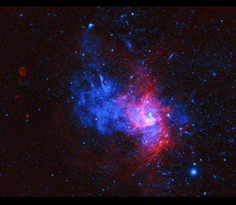 کشف اولین نمونه از یک انفجار ستارهای