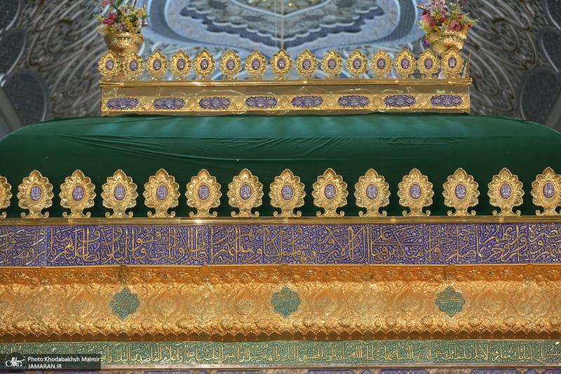 مراسم احیای شب نوزدهم ماه مبارک رمضان در حرم امام خمینی(س)