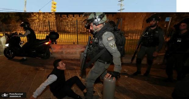 قیام فلسطینی ها در  ماه رمضان/ قدس اشغالی کانون درگیری با اشغالگران+ تصاویر
