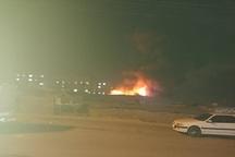 آتش سوزی جمعه بازار یاسوج تلفات جانی نداشته است