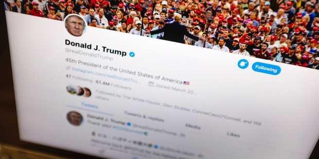 ترامپ رئیس جمهور 11390 توئیتی/ خودشیفتگی ترامپ در 2026 توئیت