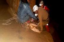 نجات غارنورد گرفتار در غار «هامپوئیل» مراغه