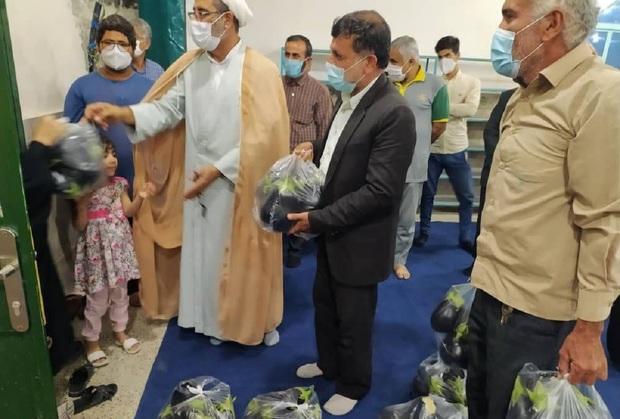 توضیحات امام جمعه در مورد ماجرای توزیع بادمجان در بین نیازمندان بوشهری + تصاویر