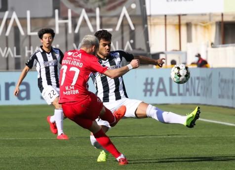 جدیدترین ستاره ایرانی در لیگ پرتغال بشناسید/ شروع سلمانی با یک گل و پاس گل +ویدیو و عکس