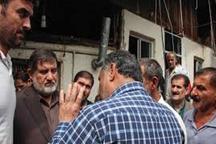 رئیس سازمان مدیریت بحران کشور ازمناطق سیلزده مازندران بازدیدکرد