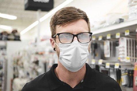راه حلی قطعی برای بخارگرفتن عینک هنگام ماسک زدن