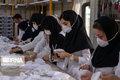 دانشجویان دختر دانشکده فنی شیراز دست به کار تولید ماسک شدند