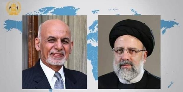 گفت وگوی تلفنی رئیس جمهوری افغانستان با رئیس جمهوری منتخب ایران
