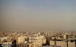 کاهش کیفیت هوای تهران/ 22 مرداد 99