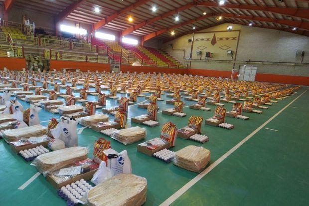 توزیع 14 هزار بسته معیشتی در مازندران