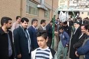 ۱۵۶ دانش آموز سروآبادی به مناطق عملیاتی اعزام شدند