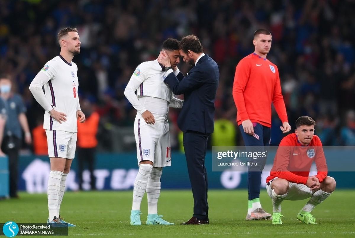 واکنش احساسی رشفورد به حملات نژادپرستانه هواداران انگلیس+ عکس