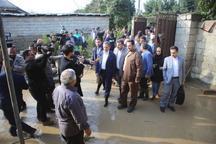 دولت برای جبران خسارت سیل کنار مردم مازندران ایستاده است