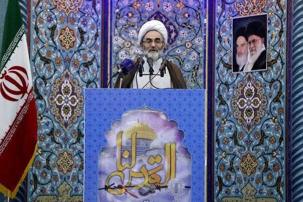 روز قدس، روز احیای ارزش های اسلامی است  این تقواست که مردم را برای لبیک به ندای امام(ره) به خیابان ها آورد