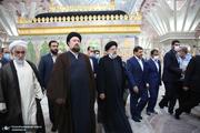 «رزمایش برکت امام خمینی» در حرم بنیانگذار جمهوری اسلامی-2