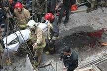 مرگ کارگر بر اثر سقوط بالابر ساختمان نیمه کاره در تهران