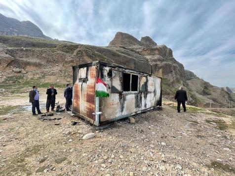 آخرین وضعیت مصدومان حادثه آتش سوزی کانکس سردشت دزفول