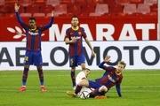برتری روحیهبخش بارسلونا در آستانه دیدار حساس با PSG