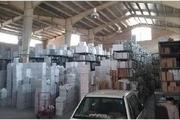 کشف 250 میلیارد لوازم یدکی قاچاق در خیابان فداییان اسلام تهران