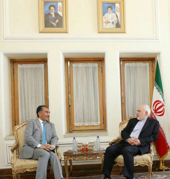 دیدارهای امروز ظریف در وزارت خارجه + تصاویر