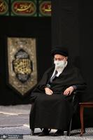عزاداری شب شهادت حضرت زهرا (س) در حسینیه امام خمینی(ره)