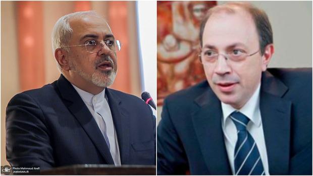 گفت و گوی تلفنی ظریف با همتای ارمنستانی