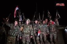 پیشروی ارتش سوریه در شمال این کشور همچنان ادامه دارد