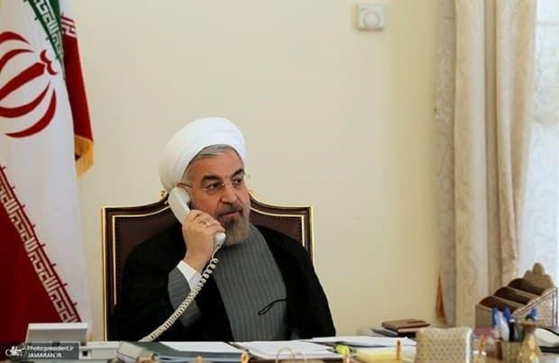روحانی خطاب به امیر قطر: چالش اساسی منطقه نظامی گری برخی کشورها و رژیم صهیونیستی است