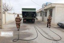 ارتش ۶ مرحله خیابانهای شاهرود را گندزدایی کرد