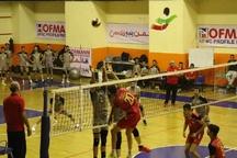 والیبال شهرداری تبریز مقابل تیم درنا ارومیه پیروز شد