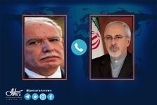 گفت و گوی ظریف با وزیر خارجه فلسطین/ تاکید بر همبستگی گروههای فلسطینی