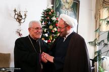 تاکید خلیفه ارامنه و علی یونسی بر صلح و آرامش در دنیا