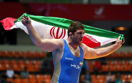 مدال طلای پرویز هادی در جام دان کلوف