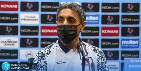 لیگ قهرمانان آسیا| خطیبی: کار داور تعجبآور بود/ از دقیقه ۷۰ از نظر بدنی افت کردیم