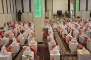 ۶۰۰ بسته معیشتی بین نیازمندان تکاب توزیع شد