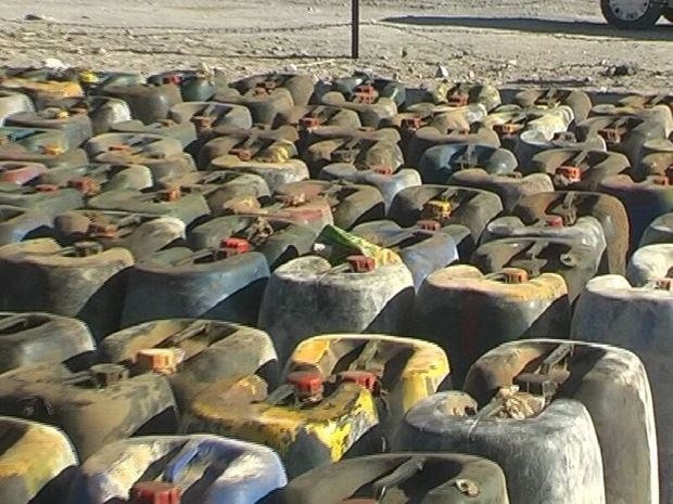 ۲ هزار لیتر سوخت قاچاق در ماکو کشف شد