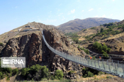 پل معلق تمام شیشهای هیر اردبیل خردادماه بازگشایی میشود